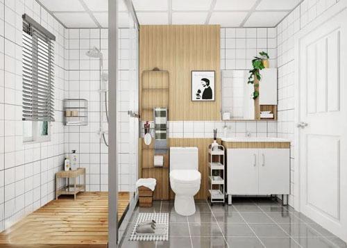 卫生间装修设计这样做 既好看又实用