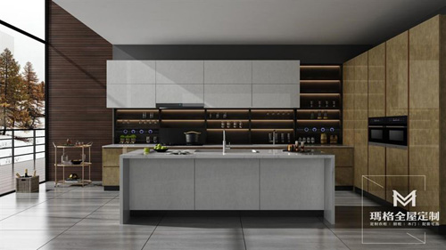 玛格全屋定制马斯克厨柜系列 演绎高品质精髓
